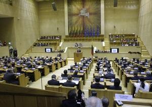 Парламент Литвы запретил Газпрому владеть частью ГТС страны