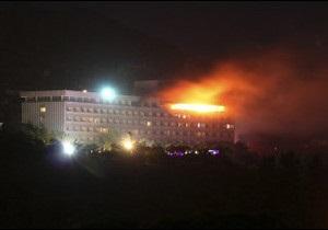НАТО допомогло відбити атаку на готель у Кабулі