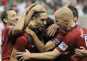В финале Золотого Кубка CONCACAF встретятся сборные США и Мексики