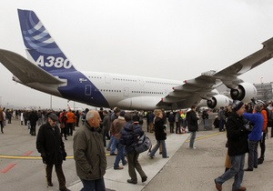 В первый день Ле Бурже компании заказали 130 самолетов Airbus