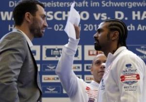 Тренер Кличко: Это будет лучший бой со времен встреч Тайсона и Льюиса