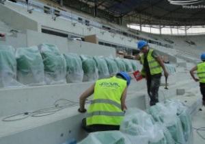 Под Кличко с Адамеком. На стадионе во Вроцлаве начат монтаж сидений