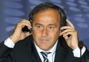 Платини: Украина нормально готовится к Евро-2012