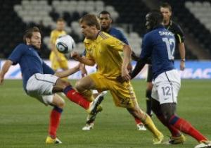 Урок футбола: Франция разгромила Украину на Донбасс-Арене