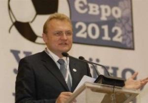 Мэр Львова: Пока отдаем предпочтение названию стадиона Львов Арена