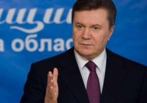 Янукович открыл соревнования Prime Yalta Rally-2011