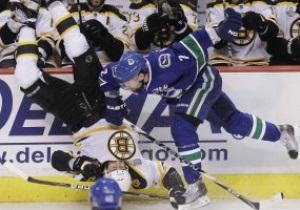 Stanley Cup: Ванкувер минимально обыграл Бостон в первом матче финальной серии