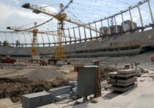На строительстве НСК Олимпийский снова погиб рабочий