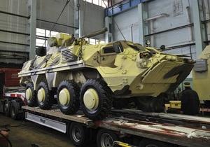 Украина поставила в Ирак 26 бронетранспортеров