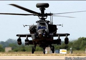 Британія перекидає до Лівії бойові вертольоти  Апач