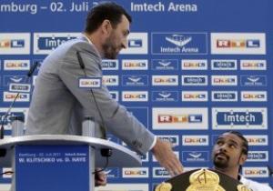 Хан осудил Хэя за неуважительное отношение к Владимиру Кличко