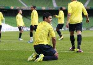 Фотогалерея: Проба поля. Порту и Брага провели открытые тренировки перед финалом Лиги Европы
