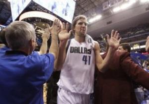 Плей-офф NBA: 48 очков Новицки приносят Далласу победу над Оклахомой