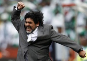 СМИ: Марадона может возглавить клуб из ОАЭ