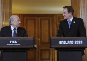 Англия не поддержит Блаттера на выборах президента FIFA