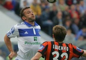 Шевченко стал самым результативным игроком Динамо в матчах с Шахтером