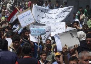 У Сирії готуються до ще масштабніших протестів