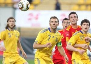 Сборная Украины сыграет с Узбекистаном