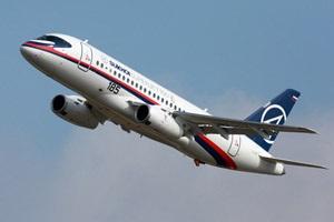 Россия после почти трехлетней задержки поставила первому заказчику Sukhoi Superjet
