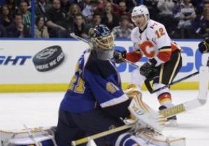 Игинла набирает 1000-е очко в NHL