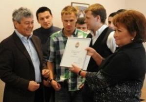 Луческу и игроки Шахтера подарили больнице оборудование на 100 тысяч евро