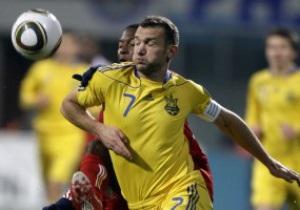СМИ: Шевченко может пропустить матч с Италией