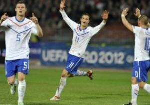 Евро-2012: Голландия разгромила Венгрию, Испания вырывает победу у Чехии