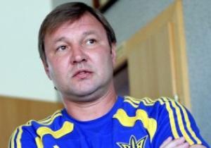 СМИ: ФФУ утвердит Калитвинцева главным тренером сборной Украины