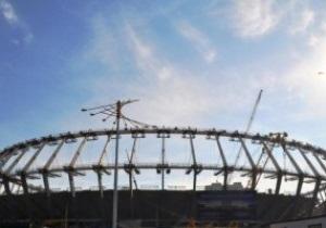 На НСК Олімпійський почали облаштування VIP-лож