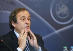 Платини переизбран на пост президента UEFA