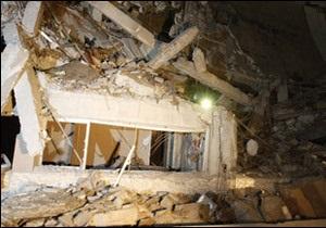 Ракетні удари знищили резиденцію Каддафі