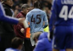 Английские СМИ обвинили Балотелли в проигрыше МанСити киевскому Динамо