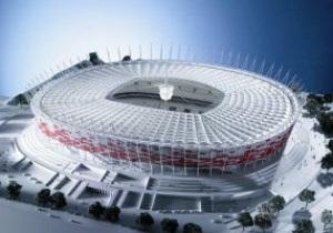 На главной арене Польши к Евро-2012 начался монтаж стеклянной крыши