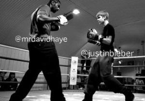 Дэвид Хэй вышел на ринг против юной поп-звезды