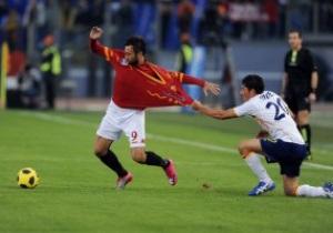 Серия А: Рома вырвала победу у Лечче, Интер разгромил Дженоа