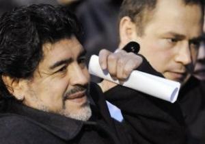 Марадона отдал предпочтение Моуриньо перед Гвардиолой