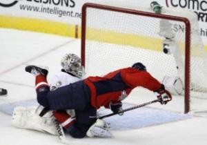 NHL: Столичные прервали победную серию Питтсбурга