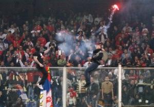 Четырем сербским фанатам запретили въезд в Италию