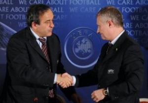 УЕФА надеется, что ФФУ откажется от инициатив по смене руководства