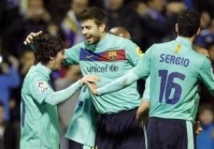 Барселона повторила рекорд Реала