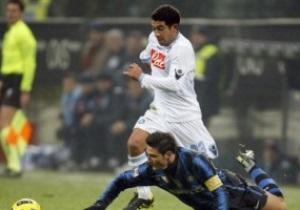 Кубок Италии: Интер с трудом прорывается в полуфинал