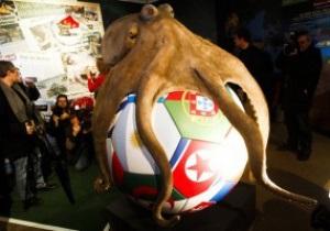 В Германии установили памятник осминогу-предсказателю Паулю