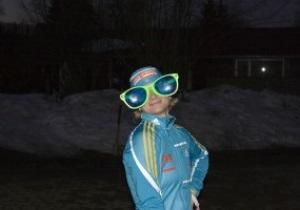 Вале Семеренко подарили противотуманные очки