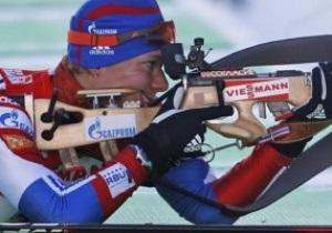 Биатлон: Зайцева выиграла индивидуальную гонку, сестры Семеренко - в десятке лучших