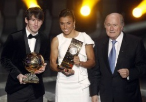 Фотогалерея: Моуриньо, Месси и другие. FIFA назвала лучших футболистов и тренеров года