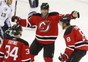 NHL: Дьяволы дома обыграли Тампу