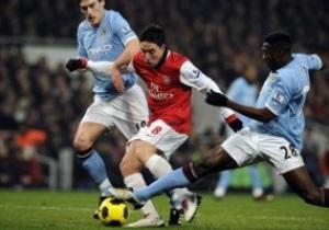 Арсенал и Ман Сити не определили сильнейшего