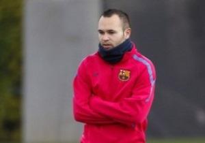 Иньеста хочет стать тренером Барселоны