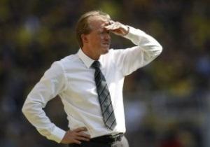 Тренеру Вольфсбурга угрожает отставка