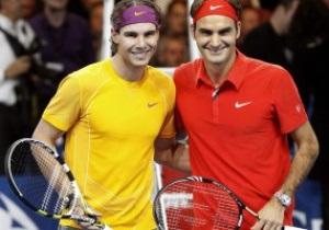 Федерер переиграл Надаля в выставочном матче